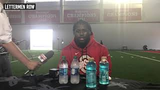 Antwuan Jackson: Ohio State defensive lineman talks Buckeyes 2019 fall camp
