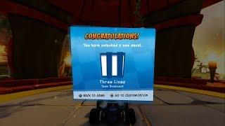 Crash Cove All Trophy, Relic & Token Races Adventure Mode Crash Team Racing Nitro Fueled