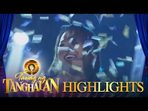 Tawag ng Tanghalan: April Luz Tolentino bags her third win!