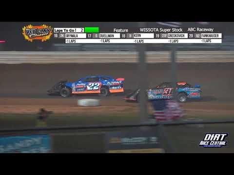 ABC Raceway 10/2/21 WISSOTA Super Stock Final Laps - dirt track racing video image