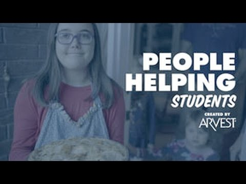 Gable Sloan Bakes for Charity – People Helping People Created by Arvest Bank