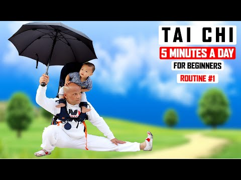 Tai Chi 5 Minutes a Day for Beginners Routine 1 ✅