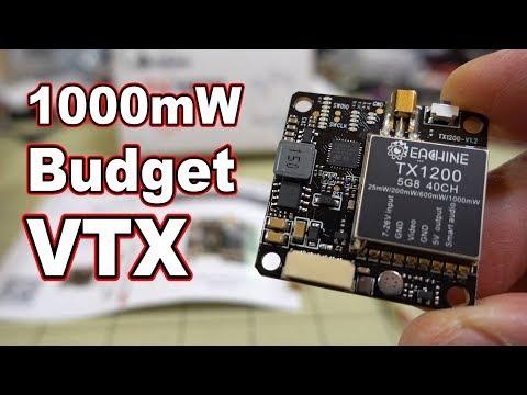 Eachine TX1200 Budget 1000mW VTX  - UCnJyFn_66GMfAbz1AW9MqbQ