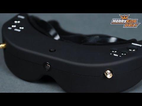 HobbyKing Daily - Skyzone Headtracking FPV Goggles - default