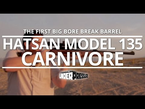 Hatsan Mod 135 Vortex: The First Big Bore Break Barrel