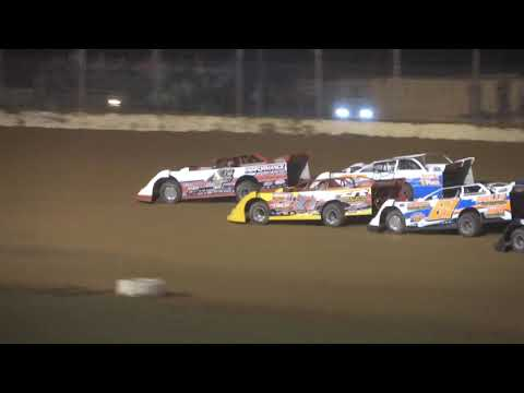 Super Late Model A-Main from Portsmouth Raceway Park, June 19th, 2021. - dirt track racing video image