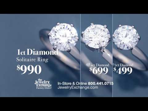 The best diamond money can buy. THE JEWELRY EXCHANGE NATIONWIDE