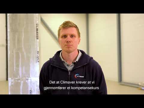 Climaver® kompetansekurs gir trygghet