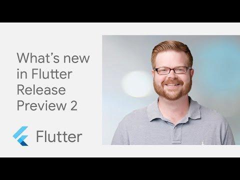 Flutter Release Preview 2 - UC_x5XG1OV2P6uZZ5FSM9Ttw