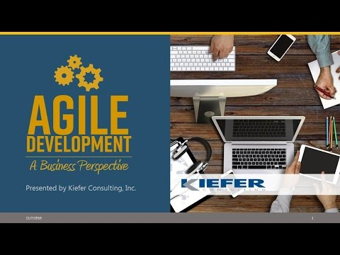 PD2016 S8: Agile Development - A business perspective - Keifer