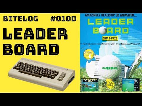 BITeLog 010D: Leader Board (COMMODORE 64) [COURSE 1]