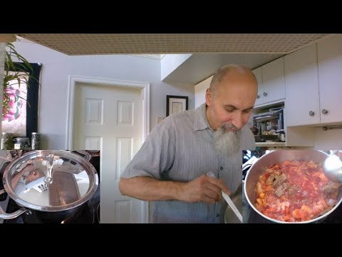 Mom's Borscht Recipe: Let's Make Some Power Food, a Cooking Live Stream (Homemade Soup, How to)