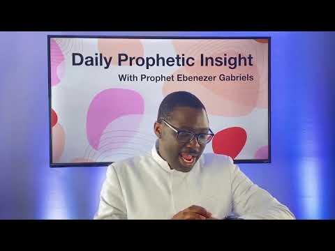 Prophetic Insights - December 23, 2020