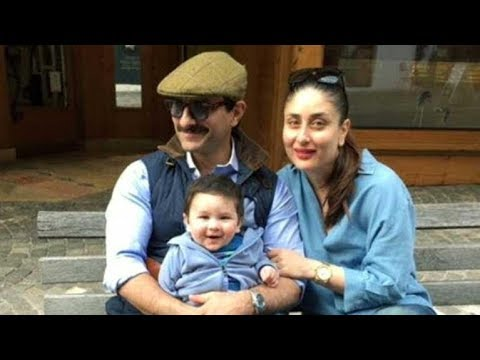 Kareena Kapoor & Taimur Ali Khan Click A Perfect Pic With Daddy Saif Ali Khan