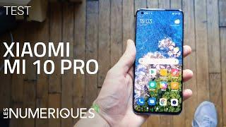 vidéo test Xiaomi Mi 10 Pro par Les Numeriques