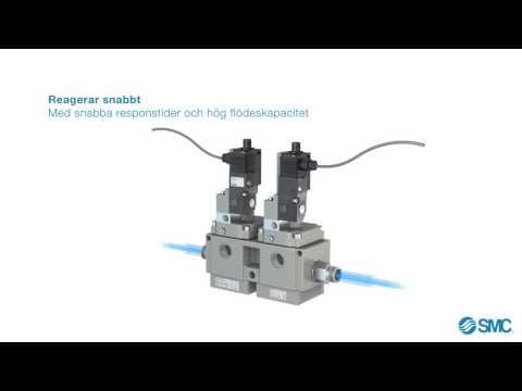 SMC's avluftande ventiler