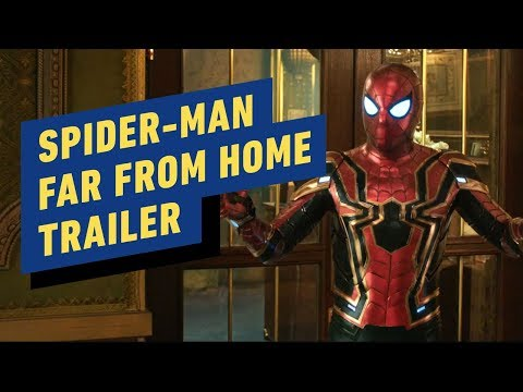 Spider-Man: Far From Home Official Trailer #2 (2019) Tom Holland, Jake Gyllenhaal, Samuel L Jackson - UCKy1dAqELo0zrOtPkf0eTMw