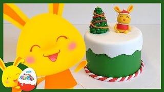 Gâteau de Noël TITOUNIS - Touni Toys - Recette et Modelage en Pâte à sucres