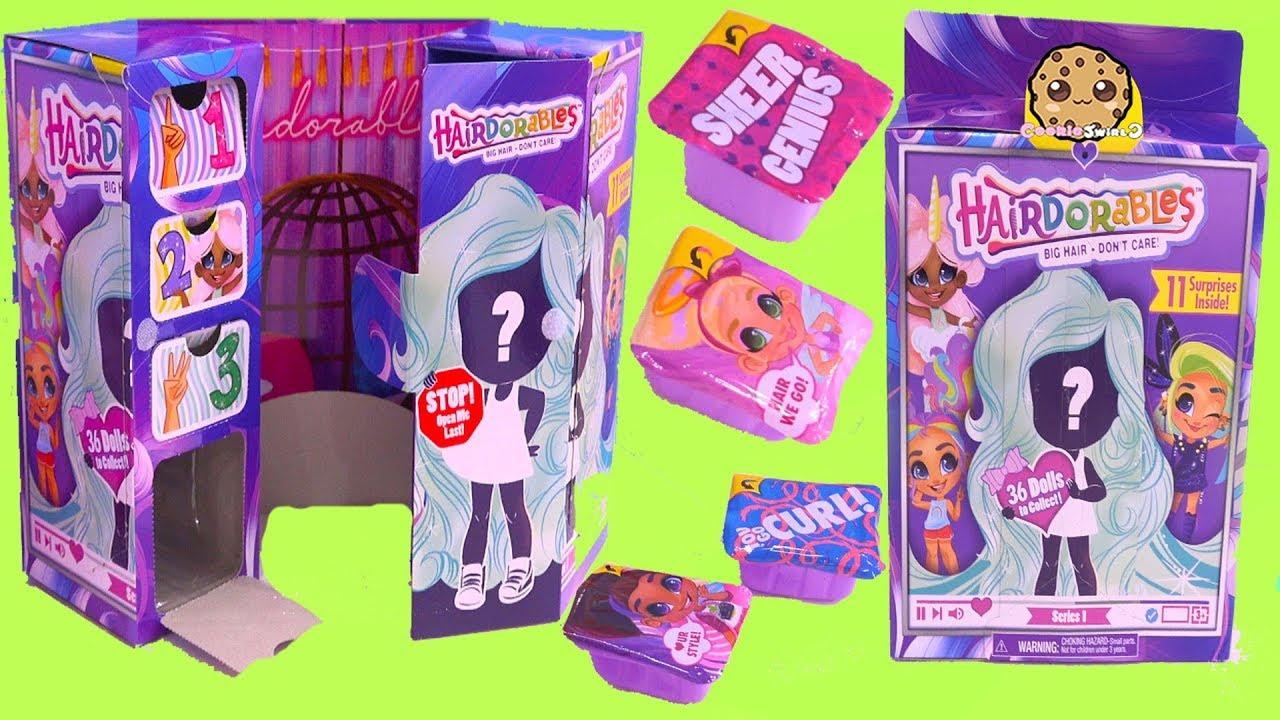 Hairdorables Surprise Dolls Blind Bags Cookie Swirl C