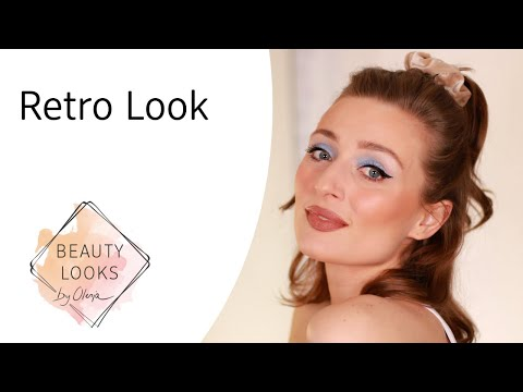 Retro Make-Up Look mit Olesja