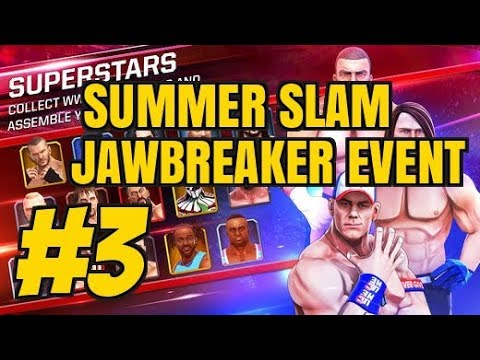 WWE MAYHEM Episode 3 Android / iOS Gameplay | SummerSlam Jawbreaker Event
