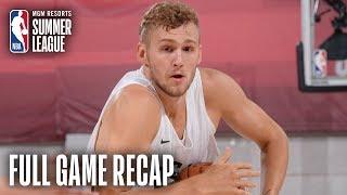 CHINA vs BUCKS | Jack Landale Scores Game-High 23 Points | MGM Resorts NBA Summer League