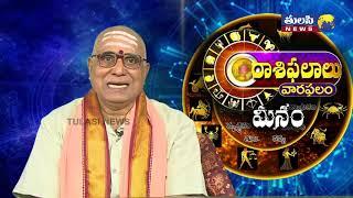 మీన రాశి Meena Rasi    Weekly Horoscope from 19-08-19 to 25- 08-19   Rasi Phalalu   Astrology