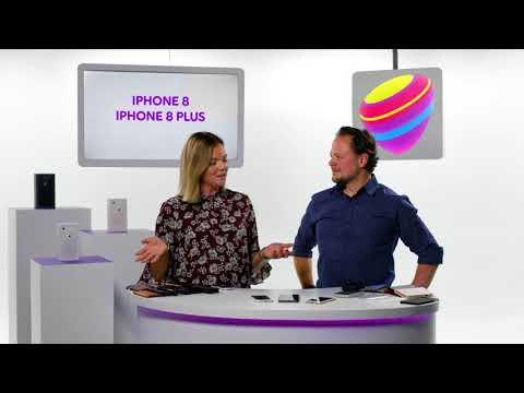 Titta närmare på nya iPhone 8