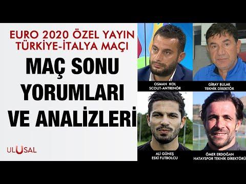 EURO 2020 Özel Yayın -11.6.2021- Osman Kol – Hikmet Karaman – Giray Bulak – Ali Güneş – Ömer Erdoğan