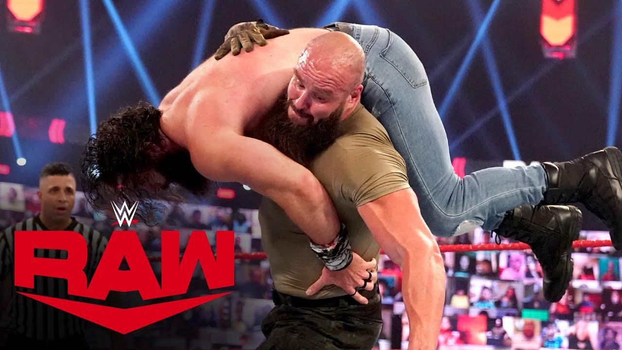 Braun Strowman vs. Elias: Raw, Mar. 22, 2021