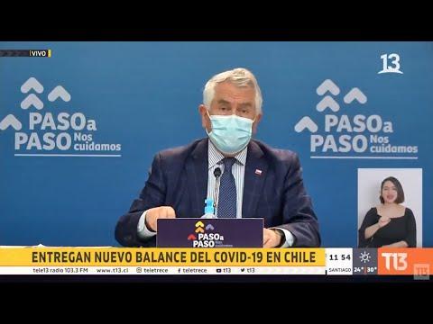 Coronavirus en Chile: balance oficial 23 de enero