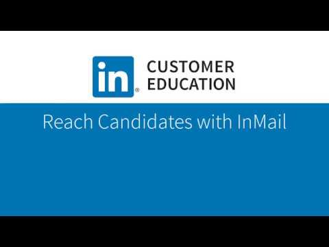 Reach Candidates with InMail