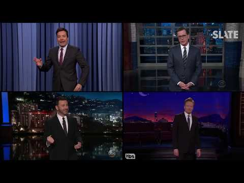 The Hidden Formula Behind Almost Every Joke on Late Night