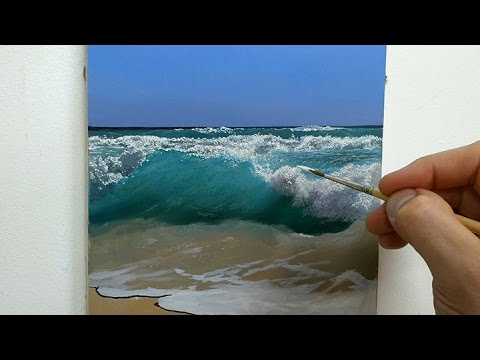 How To Paint A Seascape | Oil Painting Tutorial