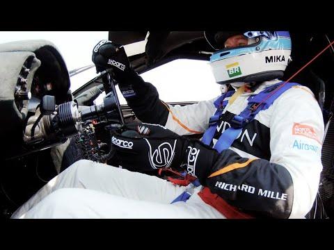 Mika Häkkinen drives the McLaren F1 GTR Le Mans winner