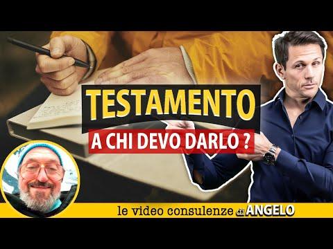 TESTAMENTO OLOGRAFO: a chi darlo?   Avv. Angelo Greco