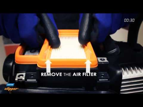 Norton Clipper CP512/514 - How to change the air filter