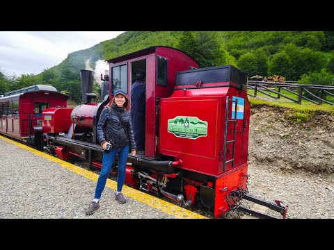 Riding the Train at END of the WORLD 🚂🌎   Iconic RAILWAY JOURNEY in Ushuaia, Argentina