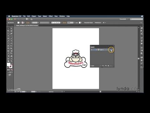 Exploring the Layers panel | Illustrator CC Essential Training (2015) | Lynda.com