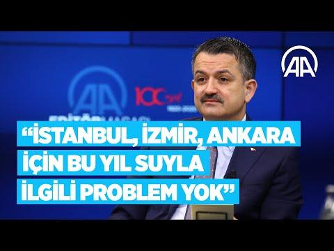 Tarım ve Orman Bakanı Pakdemirli: İstanbul, İzmir ve Ankara için bu yıl suyla ilgili problem yok