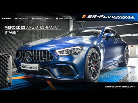 Mercedes AMG GT63 4MATIC / Stage 1 By BR-Performance