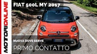Fiat 500L MY 2017, cambiamento ragionato [PRIMO CONTATTO]