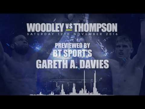 Tyron Woodley v Stephen Thompson with Gareth A Davies v1