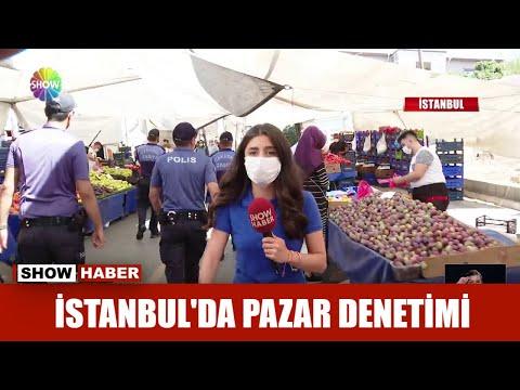 İstanbul'da pazar denetimi