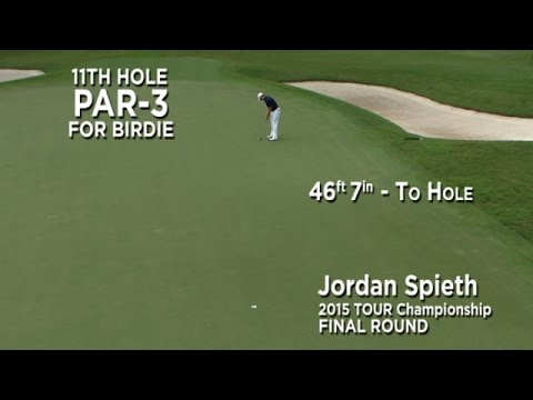By the Numbers: Jordan Spieth?s birdie bomb at the 2015 TOUR Championship