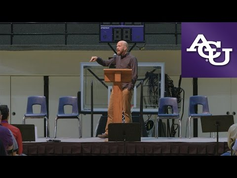 ACU Chapel with Derran Reese; October 10, 2016