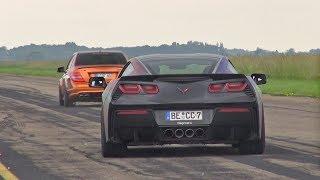 INSANELY LOUD Chevrolet Corvette C7 w/ Capristo Exhaust!