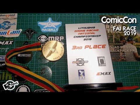 FAI Drone racing at ComicCon Lithuania 2019 - UCv2D074JIyQEXdjK17SmREQ