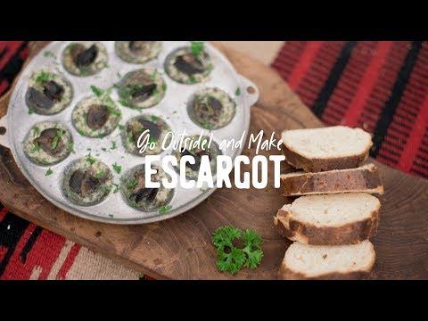 Go Outside! And Make: Escargot