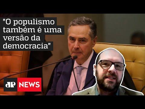 Polzonoff explica incoerência do discurso de Barroso com reivindicações pela democracia